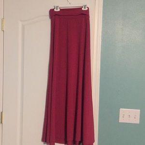 🔥🔥LuLaRoe maxi skirt *Small